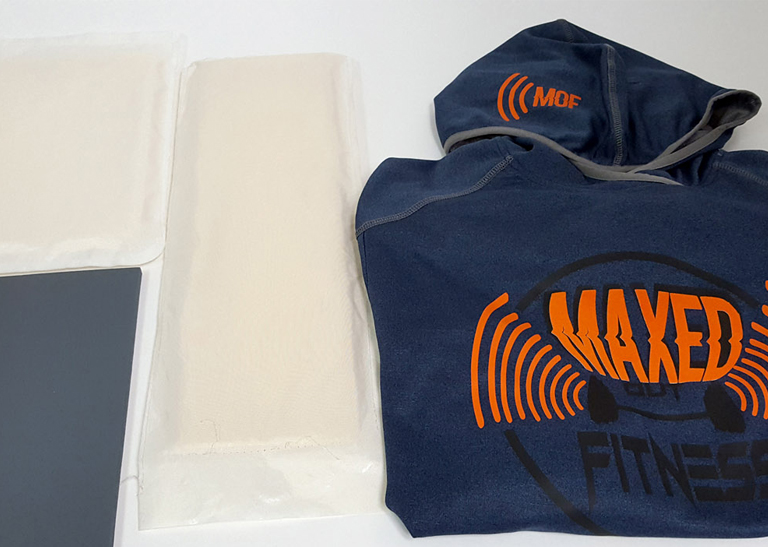 almohadillas de transferencia de calor