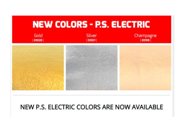 nuevos colores P.S. Electric de SISER